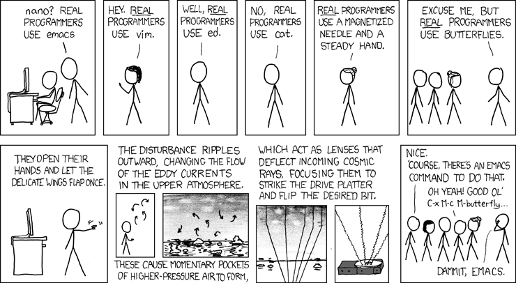 XKCD real programmers